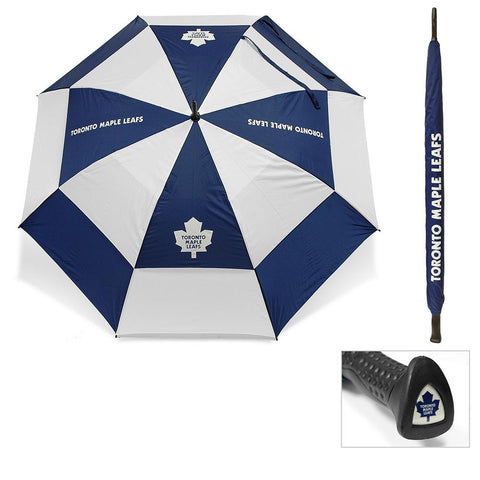 Toronto Maple Leafs NHL 62 inch Double Canopy Umbrella