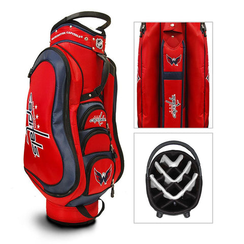 Washington Capitals NHL Cart Bag - 14 way Medalist