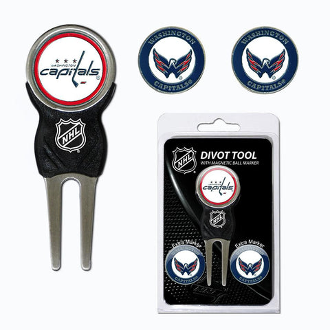 Washington Capitals NHL Divot Tool Pack w-Signature Tool