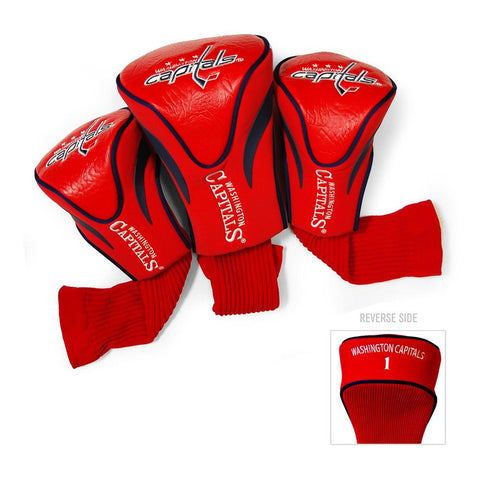 Washington Capitals NHL 3 Pack Contour Fit Headcover