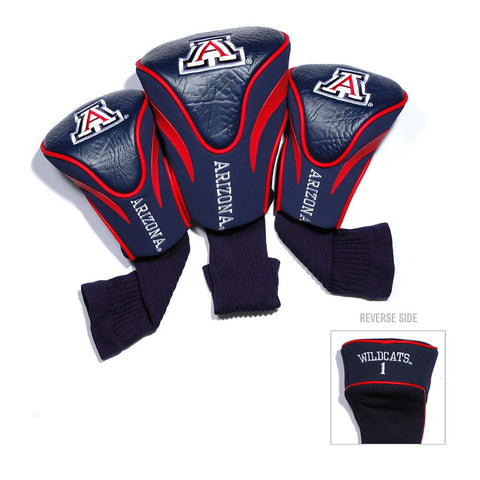Arizona Wildcats NCAA 3 Pack Contour Fit Headcover
