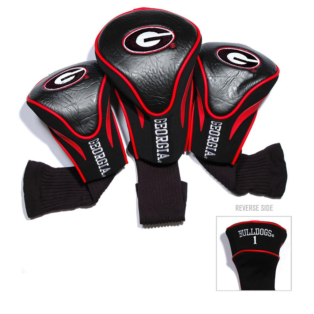 Georgia Bulldogs NCAA 3 Pack Contour Fit Headcover - 2
