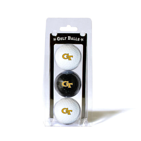 Georgia Tech Yellowjackets NCAA 3 Ball Pack