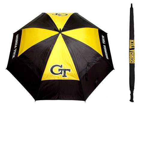 Georgia Tech Yellowjackets NCAA 62 inch Double Canopy Umbrella