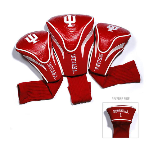 Indiana Hoosiers NCAA 3 Pack Contour Fit Headcover
