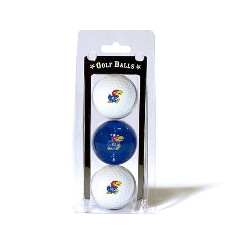Kansas Jayhawks NCAA 3 Ball Pack