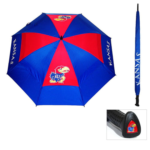 Kansas Jayhawks NCAA 62 inch Double Canopy Umbrella