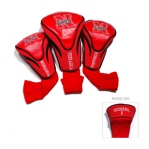 Nebraska Cornhuskers NCAA 3 Pack Contour Fit Headcover