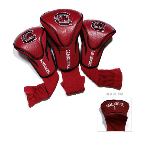 South Carolina Gamecocks NCAA 3 Pack Contour Fit Headcover