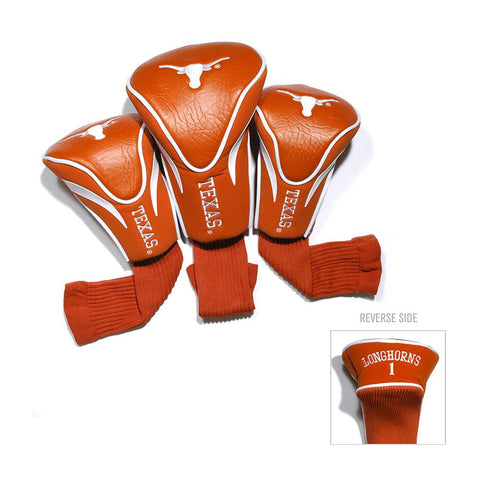 Texas Longhorns NCAA 3 Pack Contour Fit Headcover