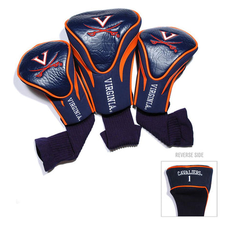 Virginia Cavaliers NCAA 3 Pack Contour Fit Headcover