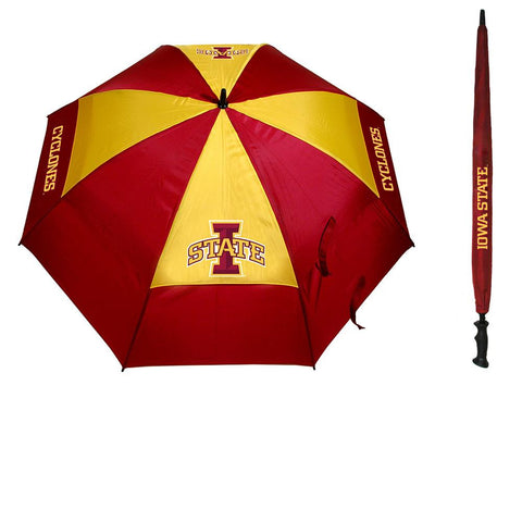 Iowa State Cyclones NCAA 62 inch Double Canopy Umbrella