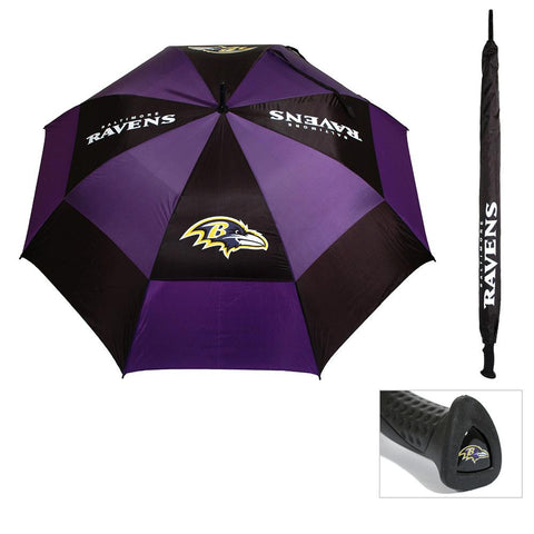 Baltimore Ravens NFL 62 double canopy umbrella