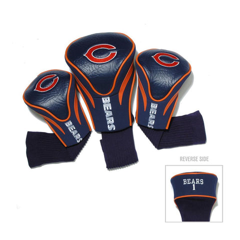 Chicago Bears NFL 3 Pack Contour Fit Headcover