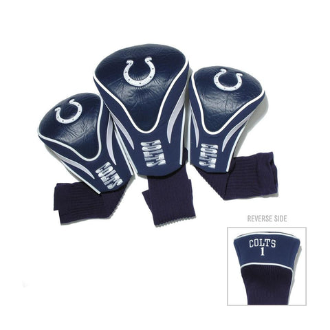 Indianapolis Colts NFL 3 Pack Contour Fit Headcover