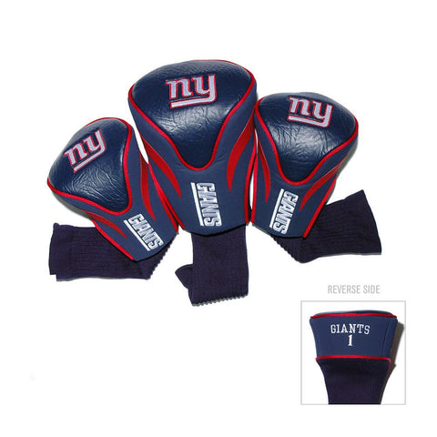 New York Giants NFL 3 Pack Contour Fit Headcover