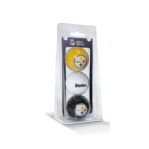 Pittsburgh Steelers NFL 3 Ball Pack