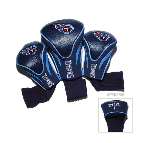 Tennessee Titans NFL 3 Pack Contour Fit Headcover
