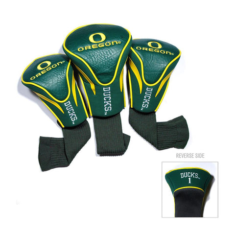 Oregon Ducks NCAA 3 Pack Contour Fit Headcover