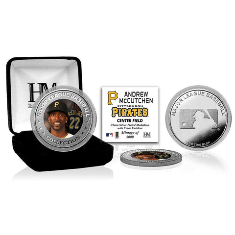 Andrew McCutchen Silver Color Coin