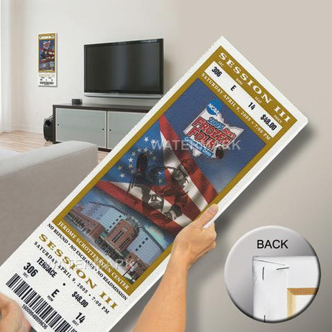 2005 Frozen Four Mega Ticket - Denver Pioneers