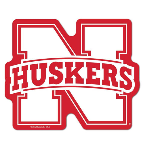 Nebraska Cornhuskers NCAA Automotive Grille Logo on the GOGO