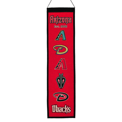 Arizona Diamondbacks MLB Heritage Banner (8x32)