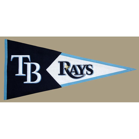 Tampa Bay Rays MLB Classic Pennant (17.5x40.5)