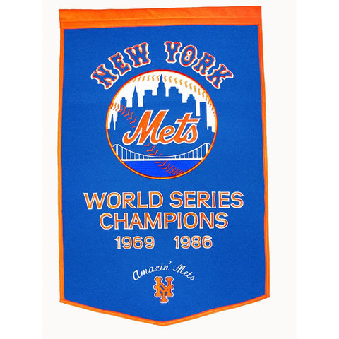 New York Mets MLB Dynasty Banner (24x36)