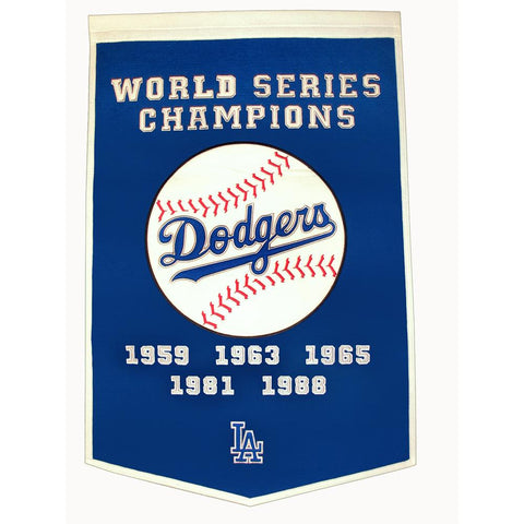 Los Angeles Dodgers MLB Dynasty Banner (24x36)