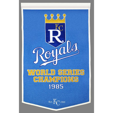 Kansas City Royals MLB Dynasty Banner (24x36)