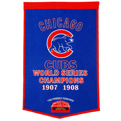 Chicago Cubs MLB Dynasty Banner (24x36)