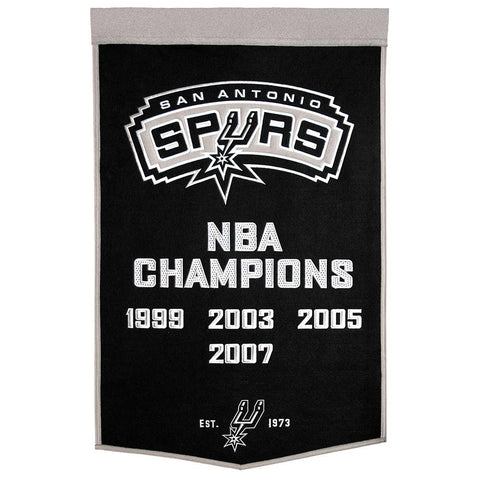San Antonio Spurs NBA Dynasty Banner (24x36)