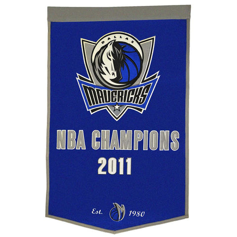 Dallas Mavericks NBA Dynasty Banner (24x36)