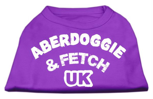 Aberdoggie UK Screenprint Shirts Purple Sm (10)