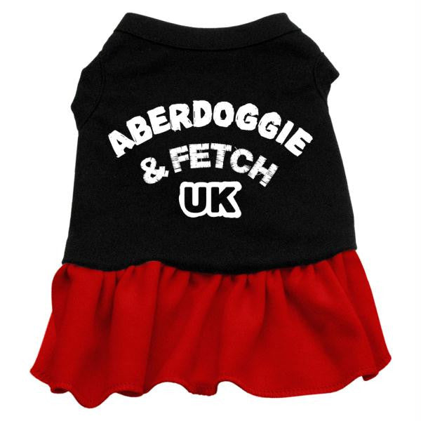 Aberdoggie UK Dresses Black with Red Med (12)