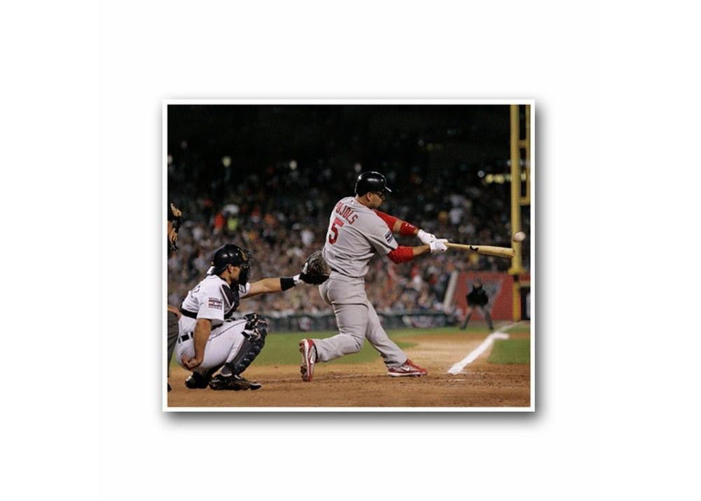 13 X 11 3-D Photo - St. Louis Cardinals Albert Pujols