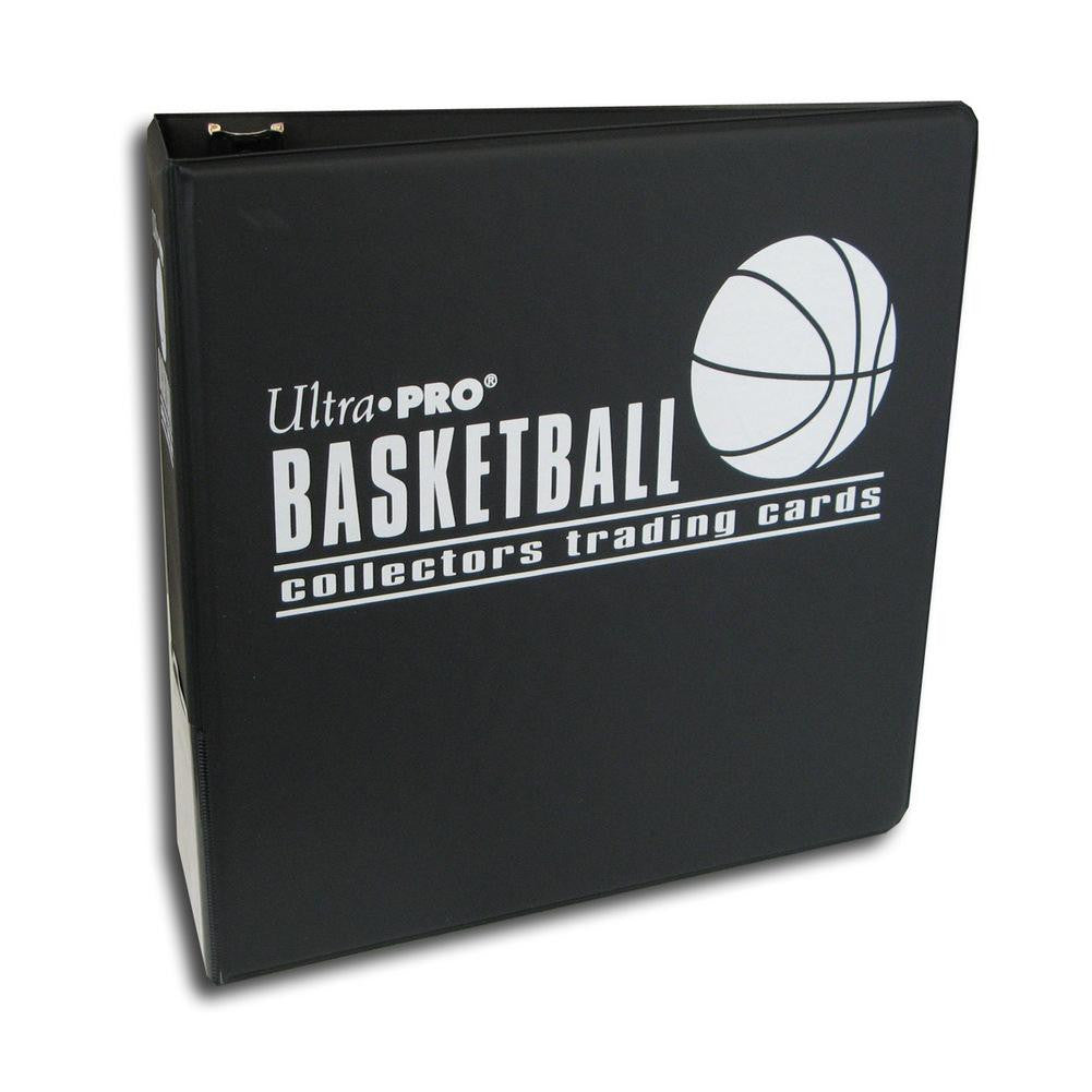 Ultra Pro 3-Inch Basketballl Card Album, Black