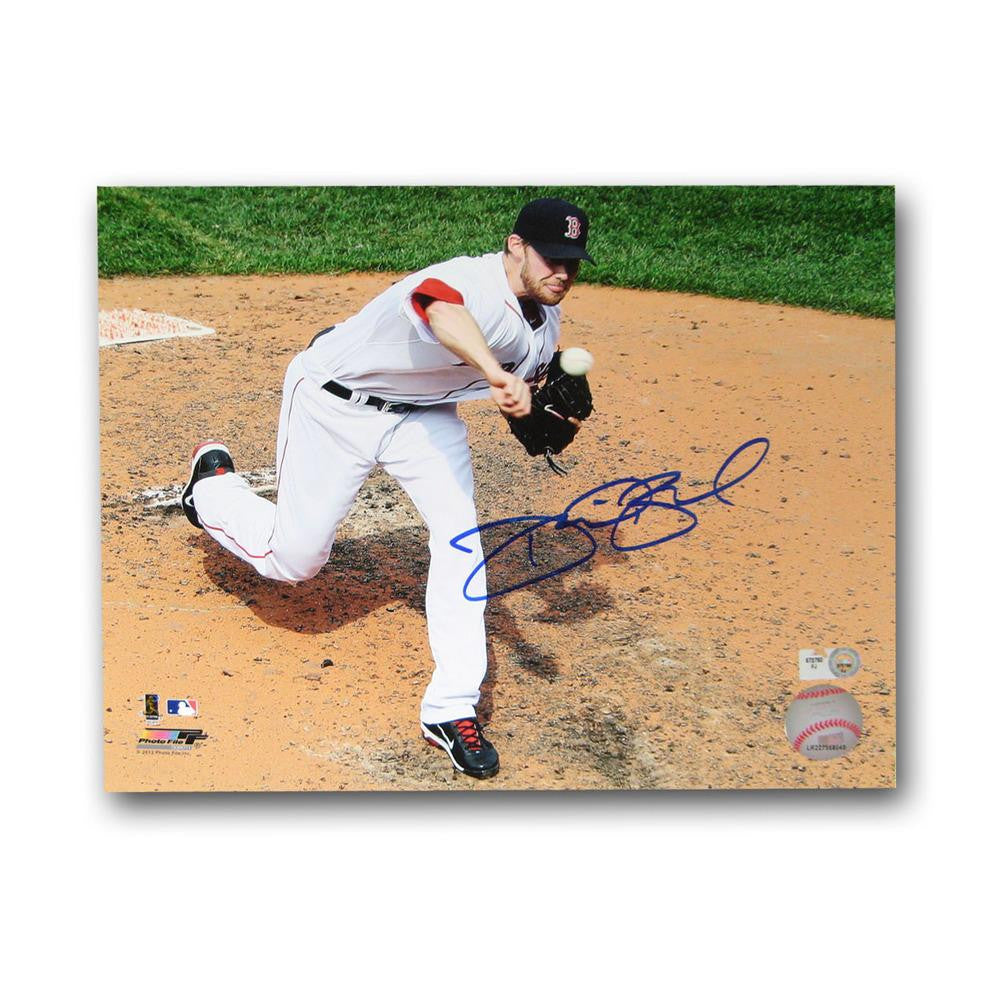 Autographed Daniel Bard 8-By-10-Inch Unframed Boston Red Sox Photo. (MLB Authenticated)