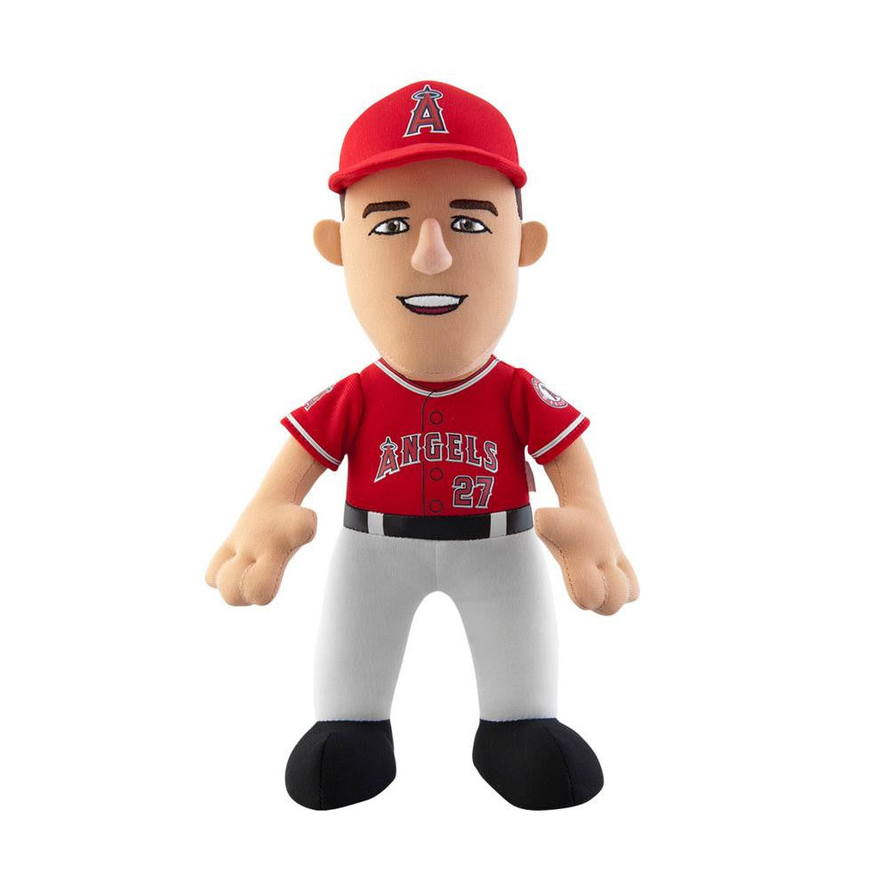 "MLB Player 10"" Plush Doll Angels Trout Road Jersey (red)"