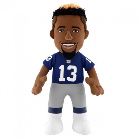 "NFL Player 10"" Plush Figure Giants Odell Beckman"