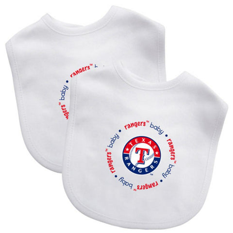 2 Pack Baby Fanatic Bib Texas Rangers