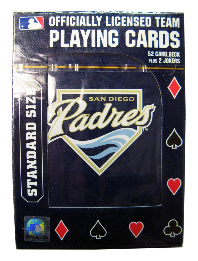 PLAYING CARDS SD PADRES 25233