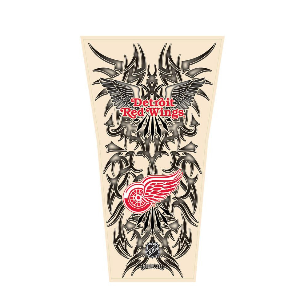 NHL Tribal Tattoo Sleeve (Mens One Size) - Detroit Red Wings