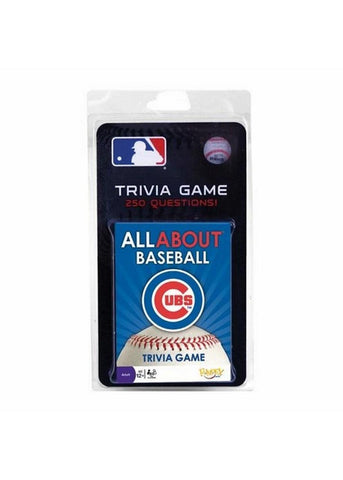All About Baseball Trivia Card Game - Chicago Cubs