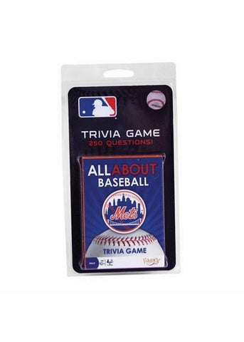 All About Trivia Card Game - New York Mets