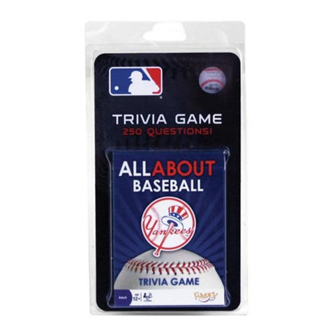 All About Trivia Card Game - New York Yankees