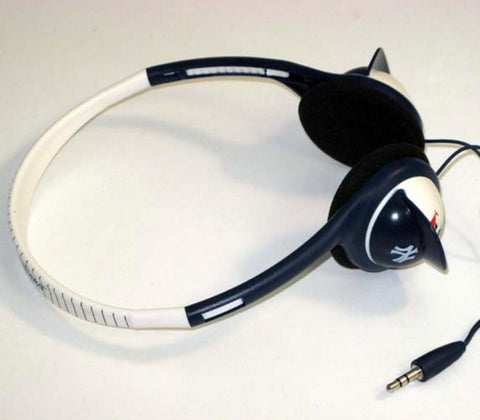 Batting Helmet Over The Head Headphones - New York Yankees