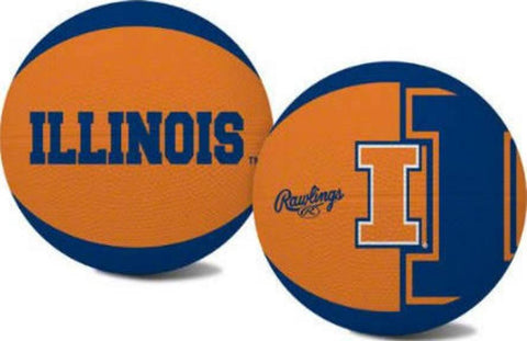 Alley Oop Youth-Size Rubber Basketball - University of Illinois