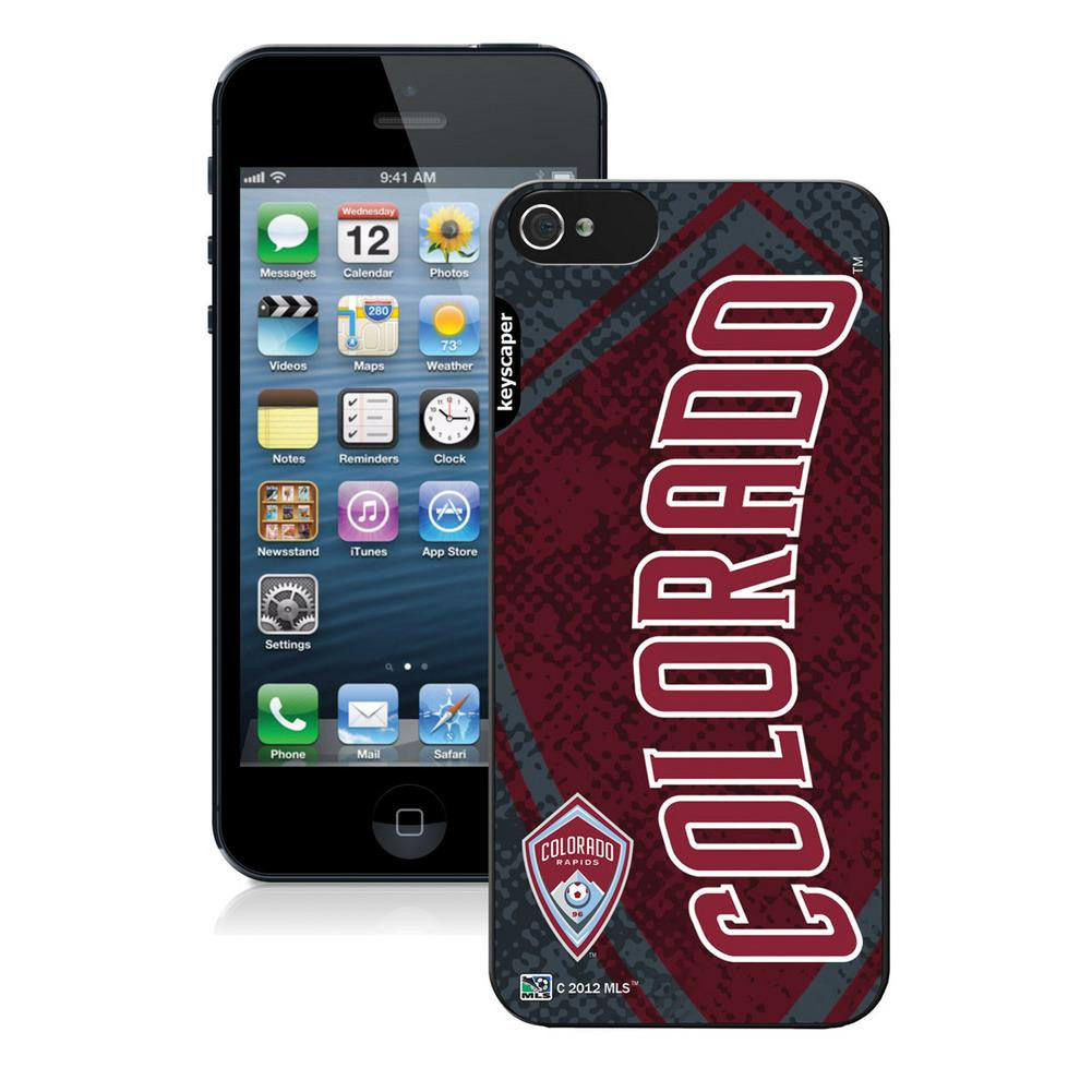 Ncaa Iphone 5 Case - MLS Colorado Rapdis